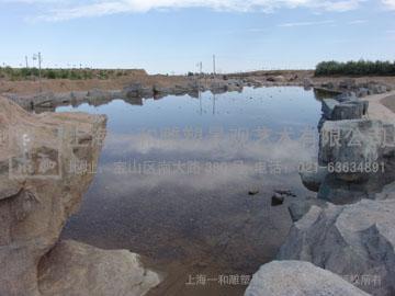 金鼎湖风景区塑石